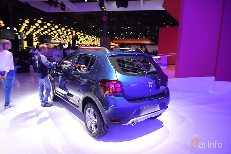 Dacia sandero stepway 2017 2nd generation 2013 present