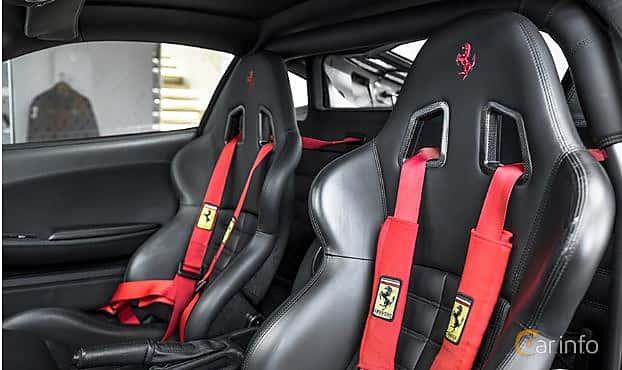 Interior of Ferrari F430 4.3 V8  Sequential, 490ps, 2004