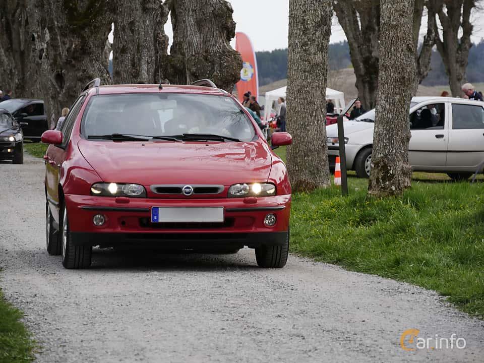 Fram av Fiat Marea Weekend 1.6 Manual, 103ps, 2002 på Italienska Fordonsträffen Sigtuna 2016