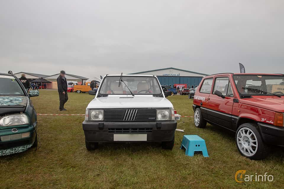 Fram av Fiat Panda 1.0 FIRE Manual, 45ps, 1987 på Vallåkraträffen 2019