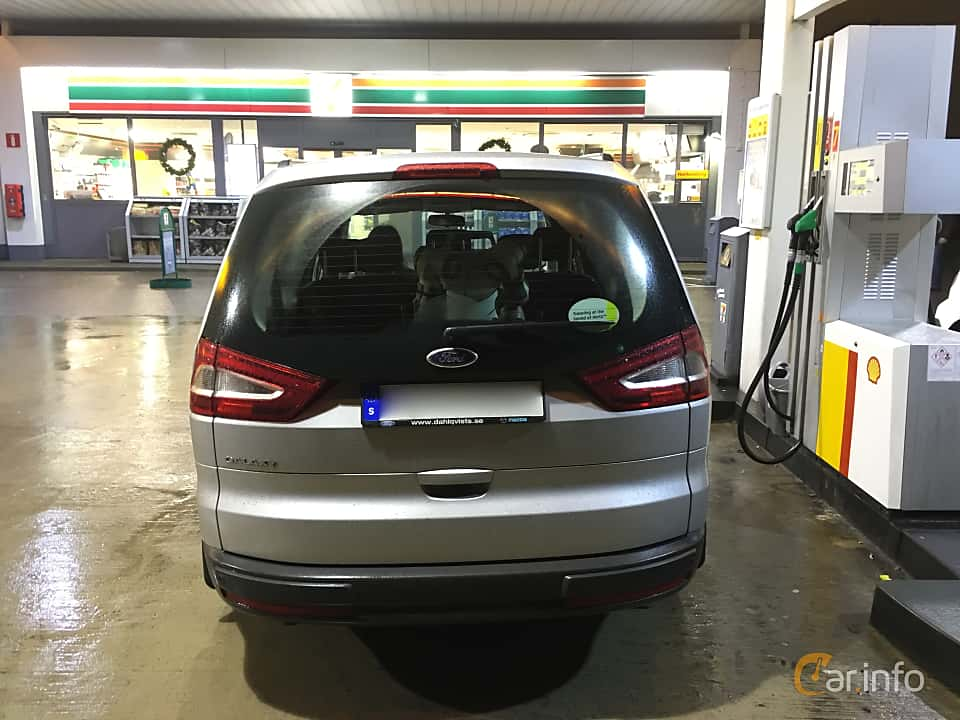 Back of Ford Galaxy 1.6 TDCi Manual, 115ps, 2015