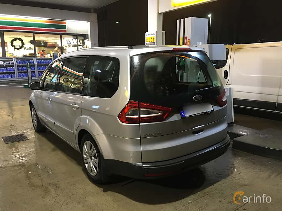 Back/Side of Ford Galaxy 1.6 TDCi Manual, 115ps, 2015