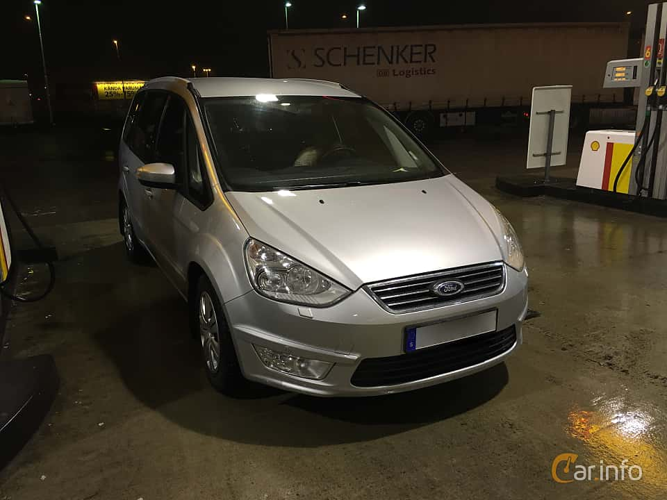 Front/Side  of Ford Galaxy 1.6 TDCi Manual, 115ps, 2015