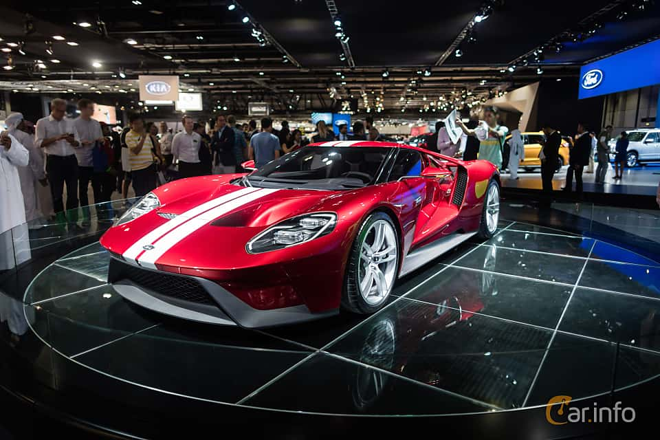 Front Side Of Ford Gt   V Ecoboost Dct Ps  At Dubai