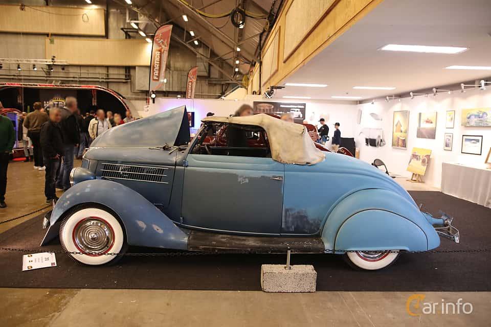 Side  of Ford Model 68 Roadster 3.6 V8 Manual, 86ps, 1936 at Bilsport Performance & Custom Motor Show 2017