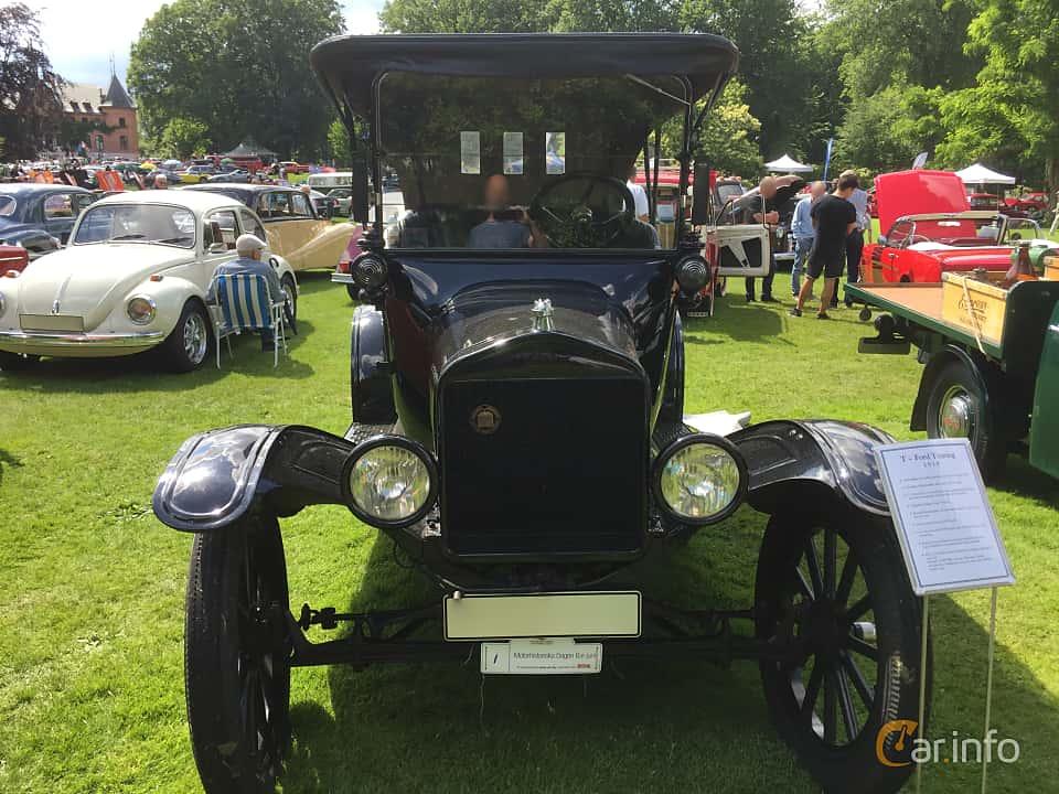 Fram av Ford Model T Touring 2.9 Manual, 20ps, 1919 på Sofiero Classic 2018