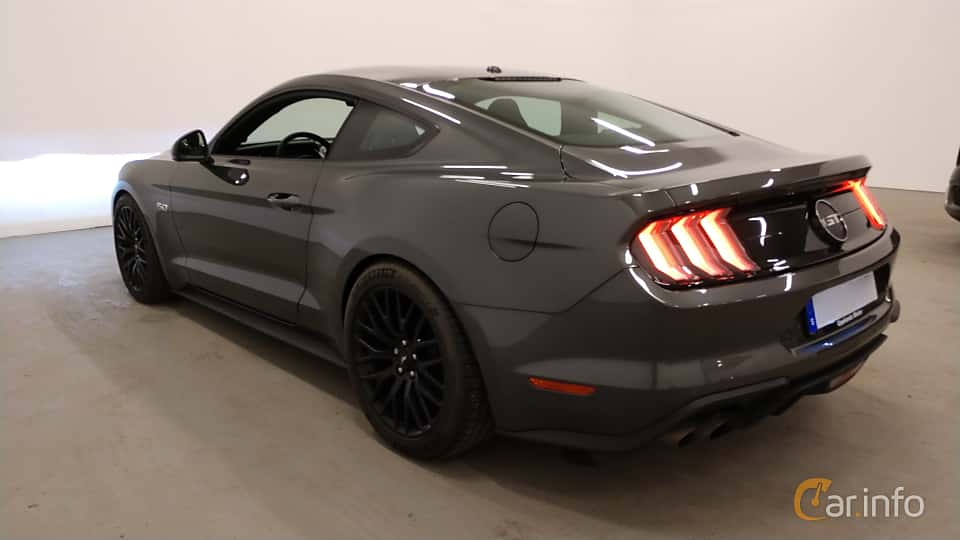Back/Side of Ford Mustang GT 5.0 V8 Manual, 450ps, 2018