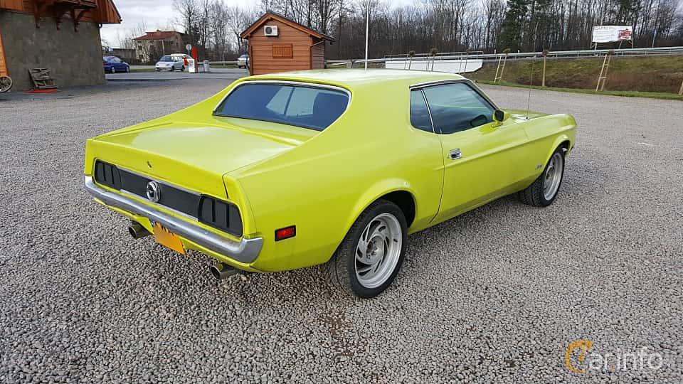 Bak/Sida av Ford Mustang Hardtop 4.9 V8 Automatic, 137ps, 1972