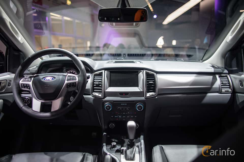 Interior Of Ford Ranger Double Cab 32 TDCi Automatic 200ps 2018 At IAA 2017