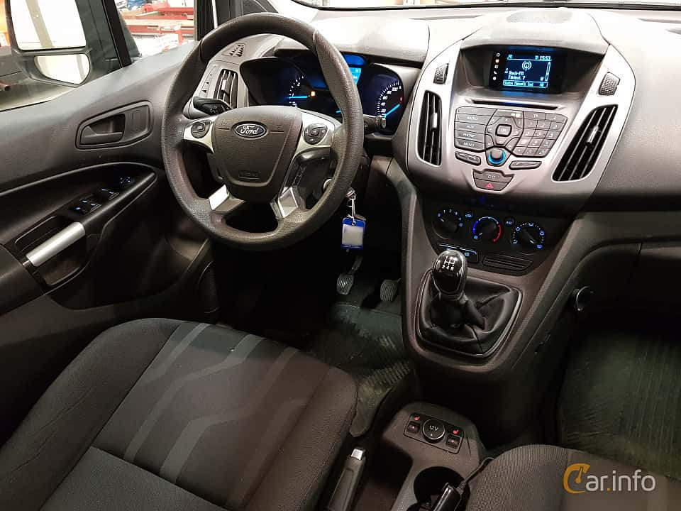 Interior of Ford Tourneo Connect 1.6 TDCi Manual, 95ps, 2015