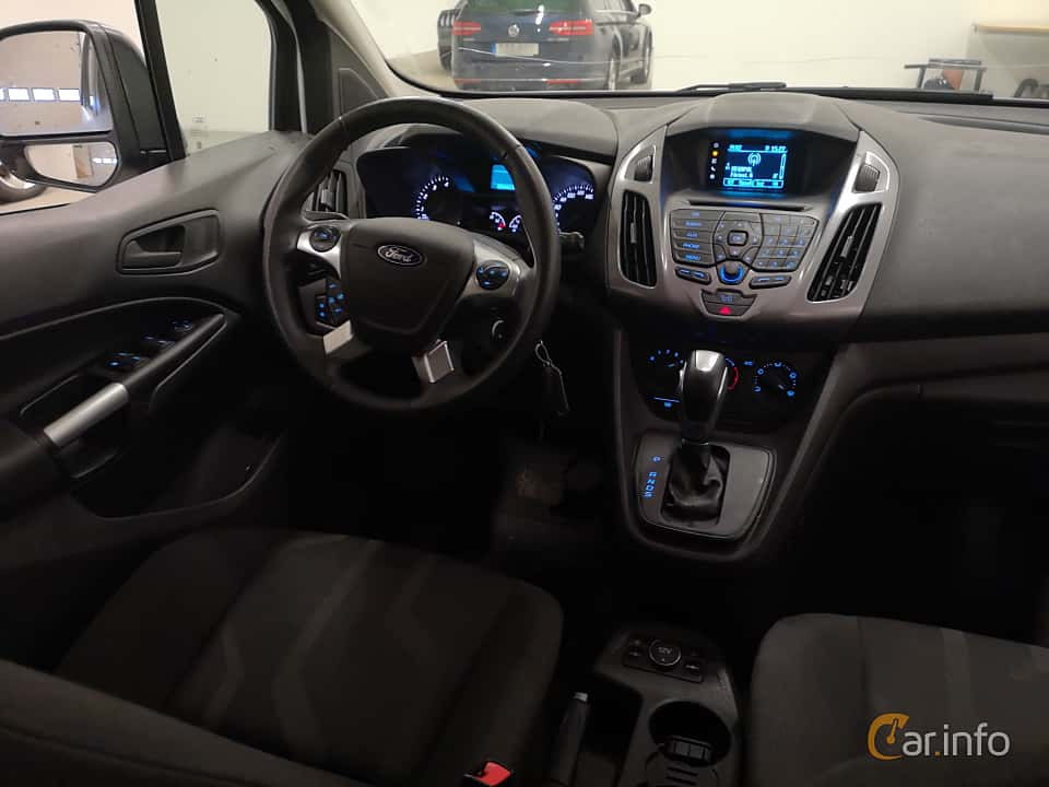 Interior of Ford Tourneo Connect 1.6 EcoBoost SelectShift, 150ps, 2014