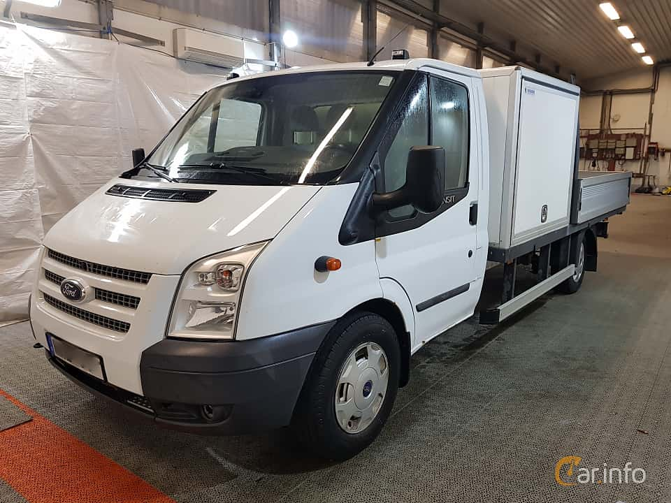 Front/Side of Ford Transit Chassis Cab 2.2 TDCi Manual, 140ps, 2013