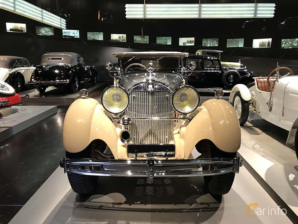 Front  of Mercedes-Benz SS 27/200  Manual, 200ps, 1930