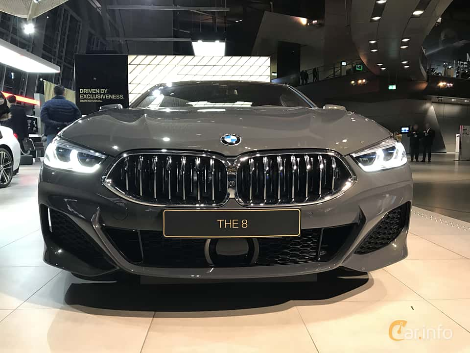 Front  of BMW 840d xDrive  Steptronic, 320ps, 2019
