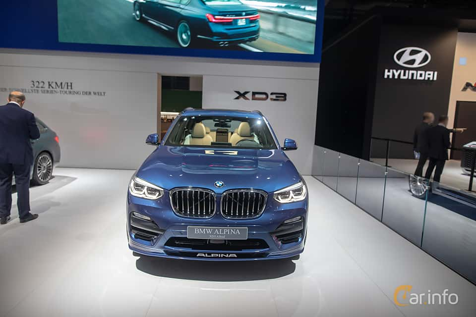 Front  of ALPINA XD3 ALLRAD  Switch-Tronic, 388ps, 2020 at IAA 2019