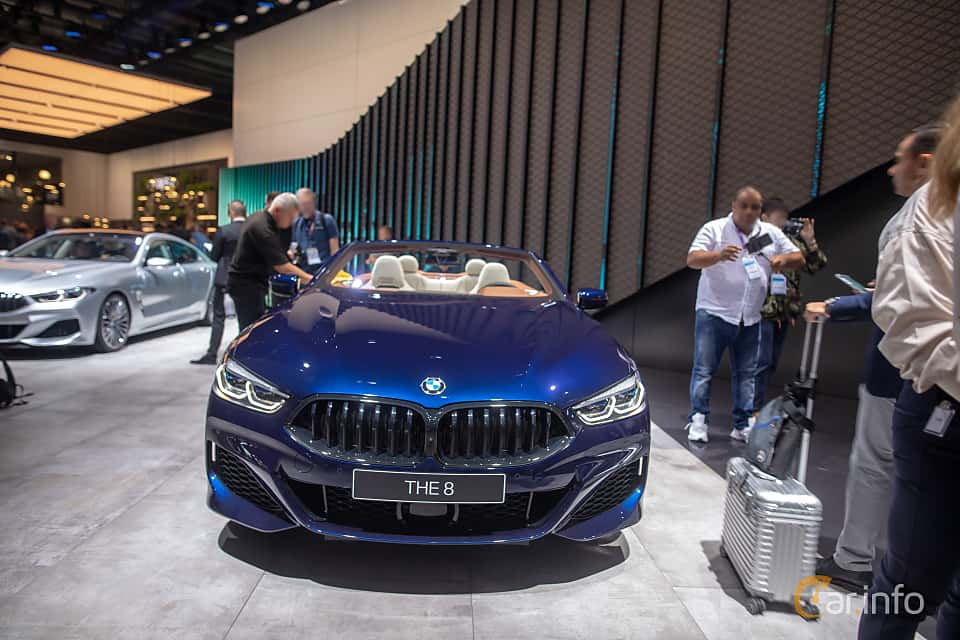 Front  of BMW 840i Convertible  Steptronic, 340ps, 2020 at IAA 2019