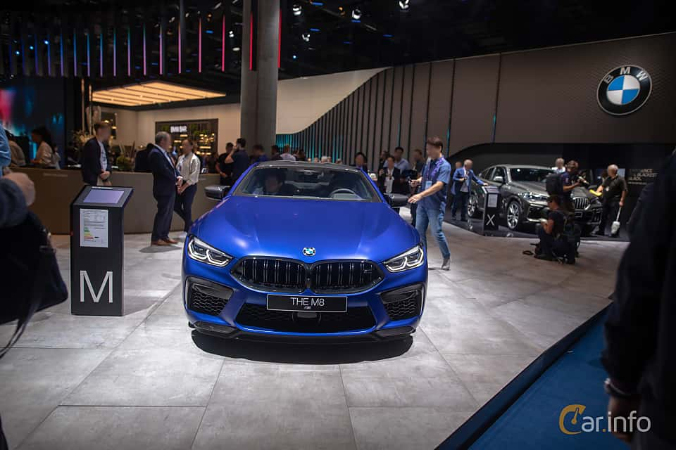 Front  of BMW M8 Competition Coupe  Steptronic, 625ps, 2020 at IAA 2019