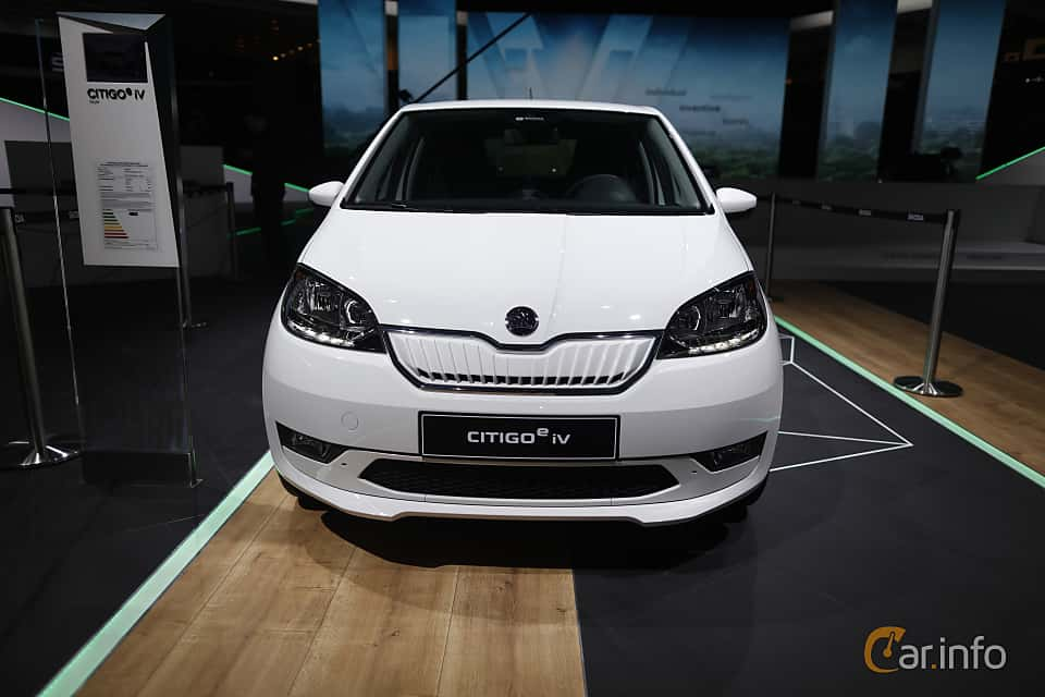 Front  of Skoda Citigo iV 36.8 kWh Single Speed, 83ps, 2020 at IAA 2019