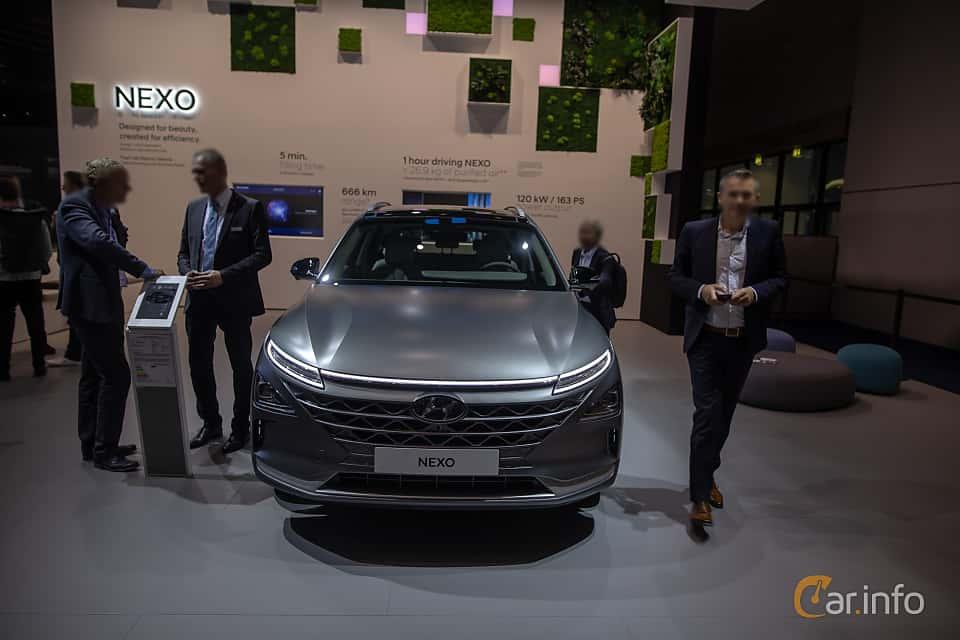 Fram av Hyundai Nexo FuelCell Single Speed, 163ps, 2020 på IAA 2019