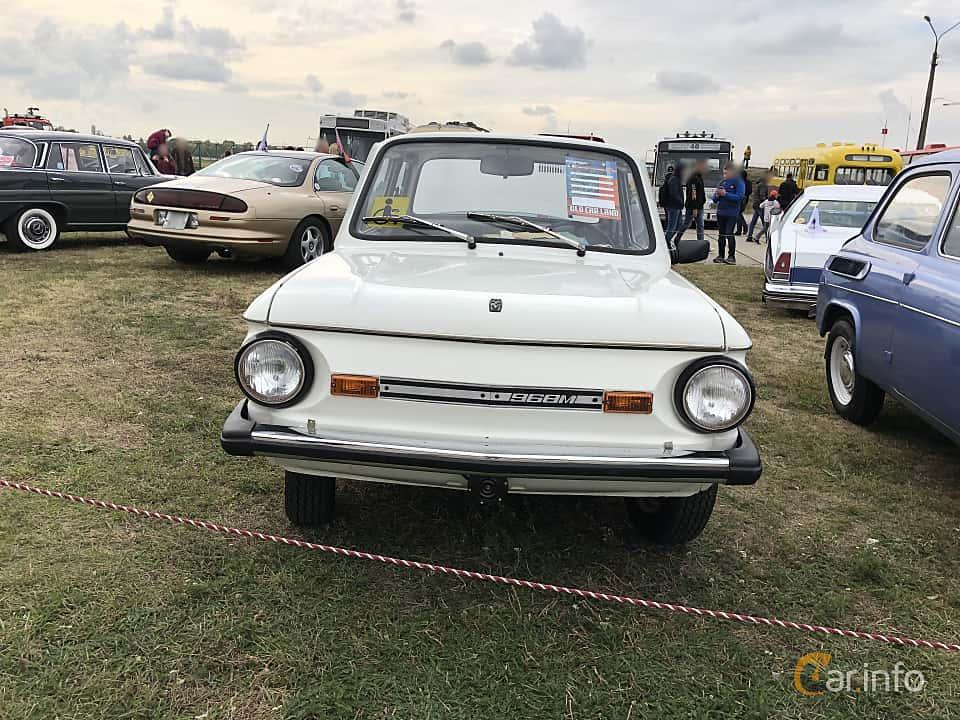 Front  of ZAZ 968M 1979 at Old Car Land no.2 2019