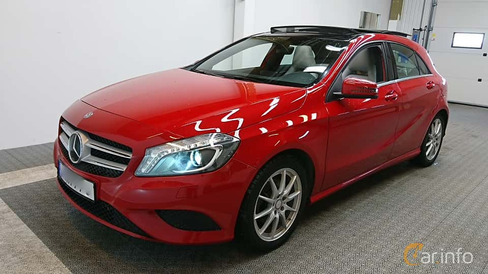 Front/Side  of Mercedes-Benz A 220 CDI 4MATIC 2.2 4MATIC  7G-DCT, 170ps, 2015