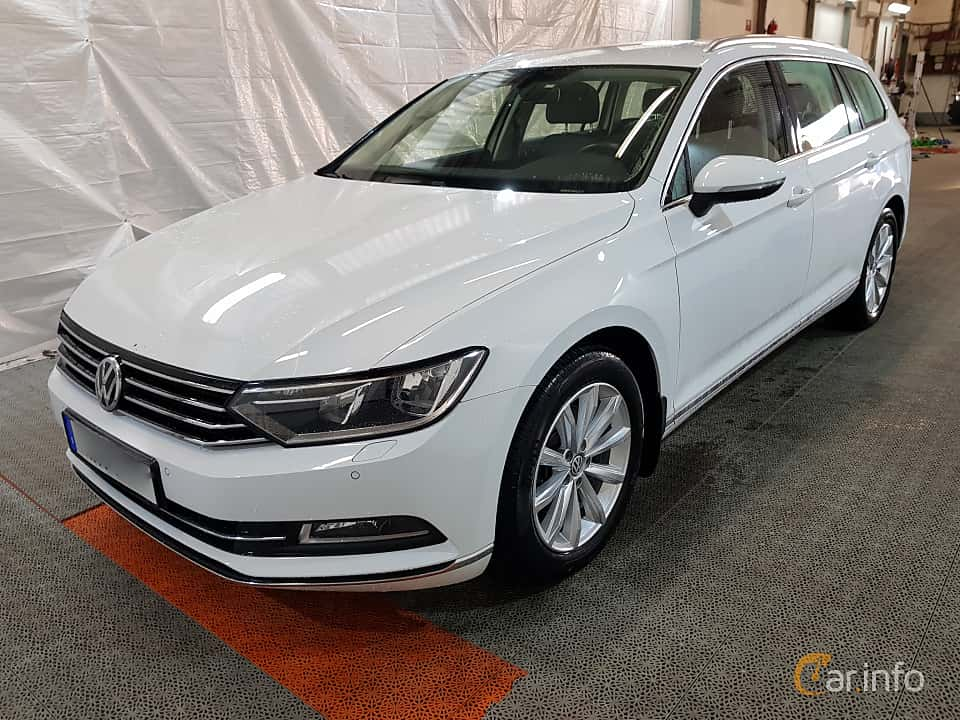 Fram/Sida av Volkswagen Passat Variant 2.0 TDI SCR BlueMotion Manual, 190ps, 2015