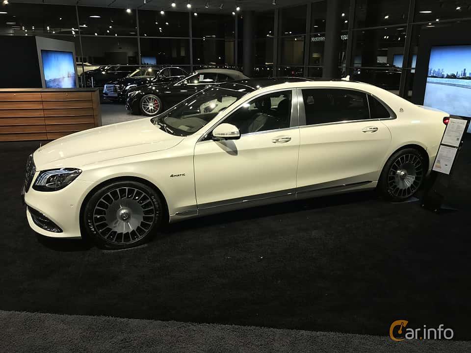 Fram/Sida av Mercedes-Benz Maybach S 560 4MATIC  9G-Tronic, 469ps, 2019