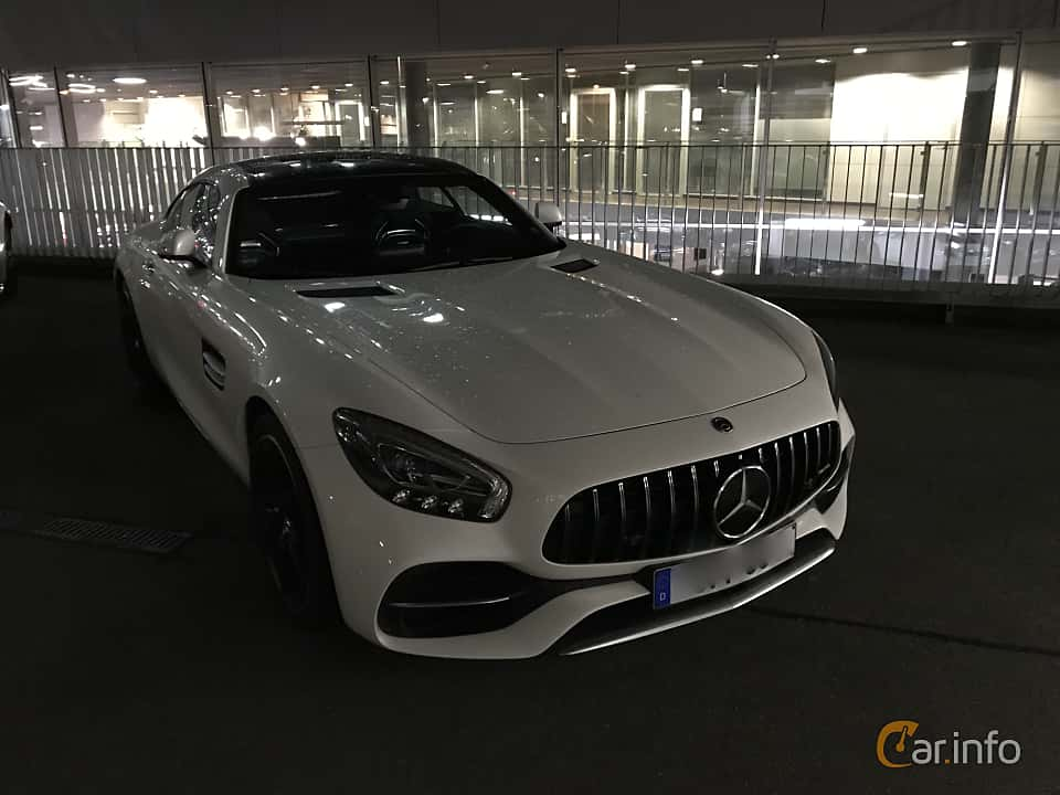 Front/Side  of Mercedes-Benz AMG GT S  AMG Speedshift DCT, 522ps, 2018