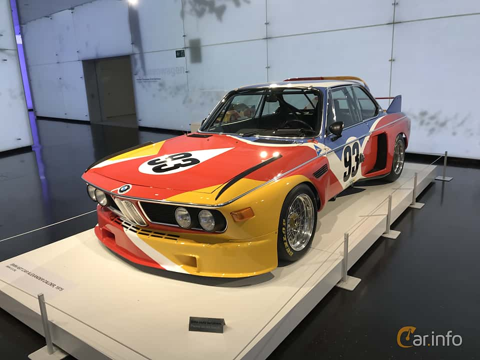 Front/Side  of BMW 3.0 CSL Group 5  Manual, 487ps, 1975