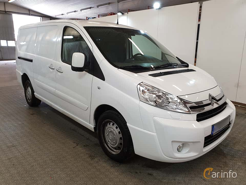 Front/Side  of Citroën Jumpy Van 2.0 HDi Automatic, 163ps, 2016