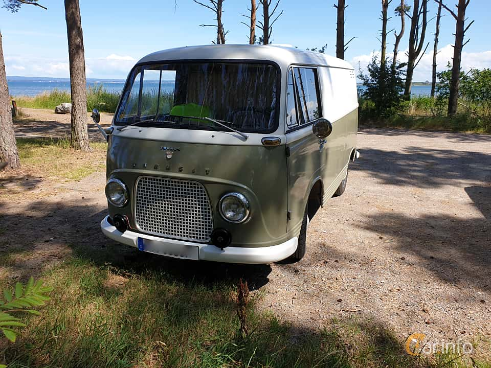 Front/Side  of Ford Taunus Transit Forerunner 1.2 Manual, 38ps, 1953