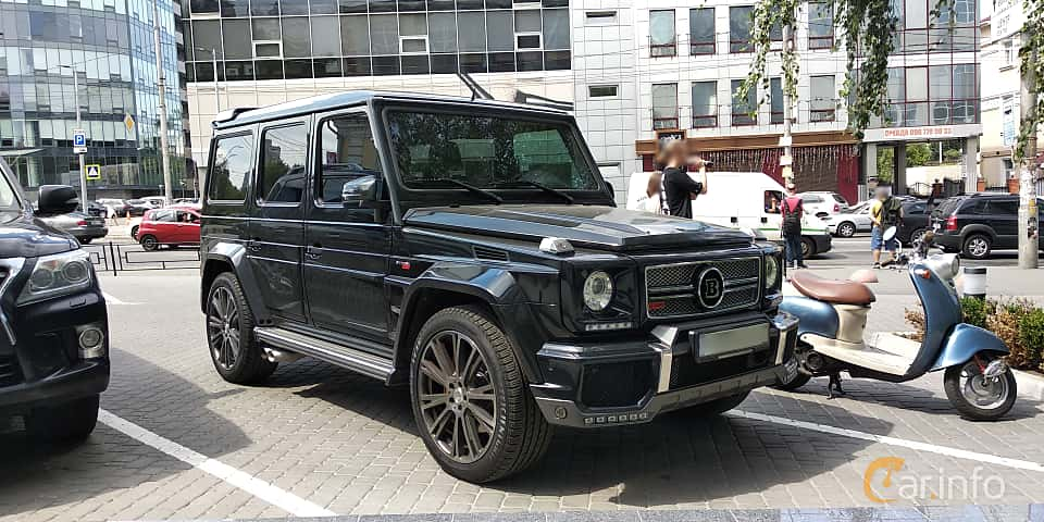 Front/Side  of Brabus G 700 B63S  AMG-SpeedShift Plus 7G-Tronic, 700ps, 2014