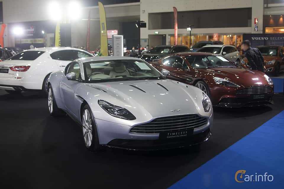 Front/Side  of Aston Martin DB11 2017 at Bangkok Motor Show 2019