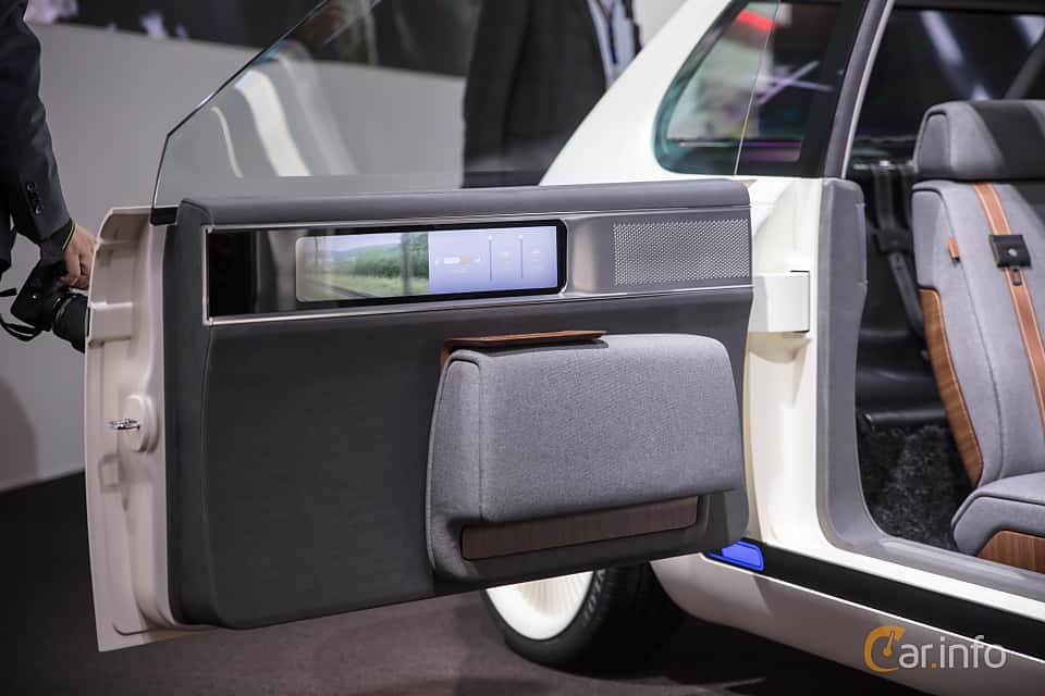 Interior of Honda Urban EV Concept Concept, 2017 at Geneva Motor Show 2018
