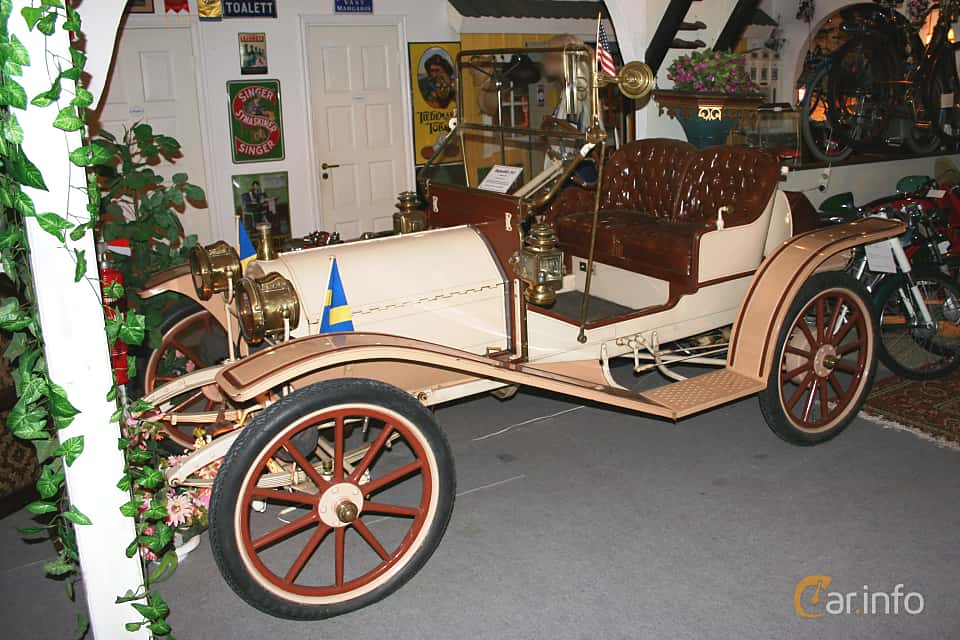 Front/Side  of Hupmobile Model 20 1.8 Manual, 17ps, 1911