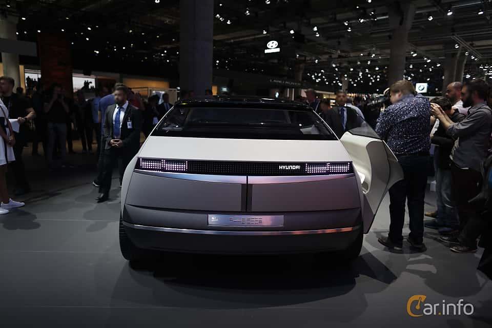 Back of Hyundai 45 EV Concept Concept, 2020 at IAA 2019