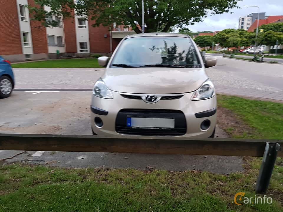 Front  of Hyundai i10 1.1 iRDE Manual, 67ps, 2010