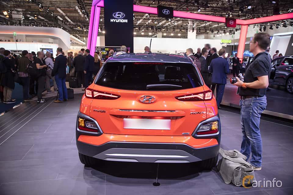 Back of Hyundai Kona 1.6 T-GDI AWD DCT, 177ps, 2018 at IAA 2017