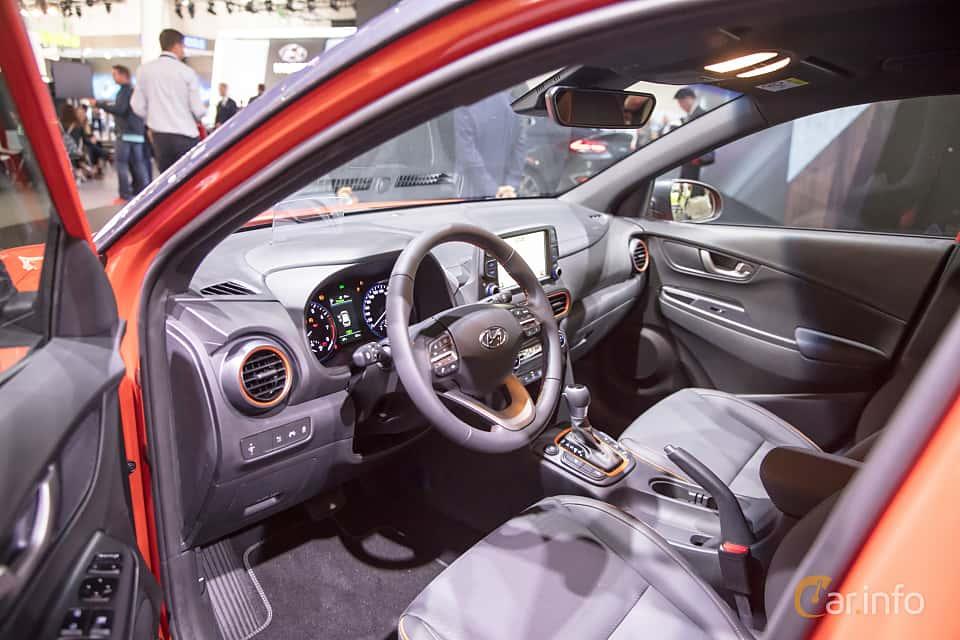 Interior of Hyundai Kona 1.6 T-GDI AWD DCT, 177ps, 2018 at IAA 2017