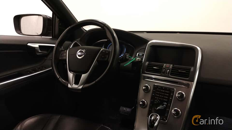 Interior of Volvo XC60 D4 AWD Geartronic, 190ps, 2017
