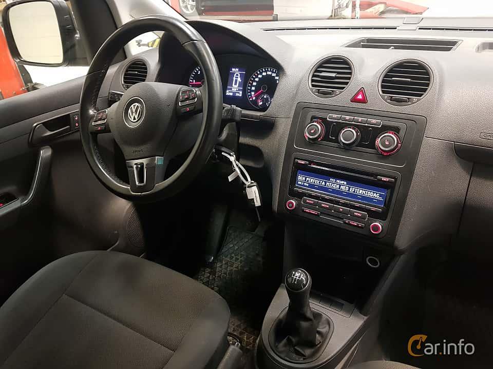 Interior of Volkswagen Caddy Panel Van 1.6 TDI Manual, 75ps, 2015