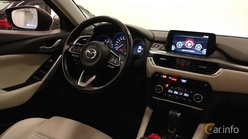 Interior of Mazda 6 Sedan 2.5 SKYACTIV-G Automatic, 192ps, 2017