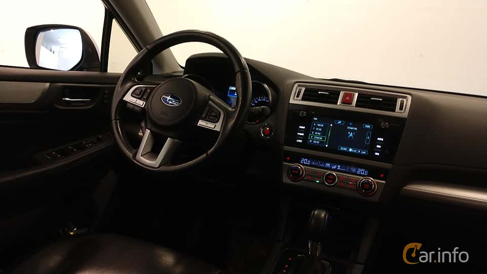 Interior of Subaru Outback 2.0 4WD Lineartronic, 150ps, 2015