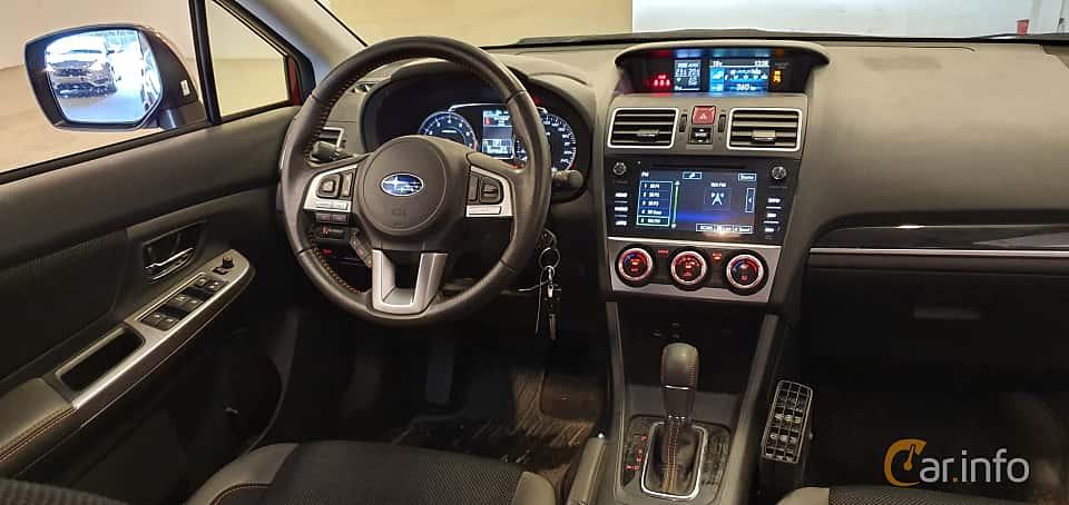 Interior of Subaru XV 2.0 4WD Lineartronic, 150ps, 2016