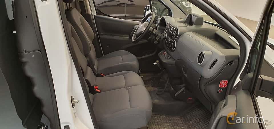 Interior of Citroën Berlingo Van 1.6 HDi ETG6, 92ps, 2014