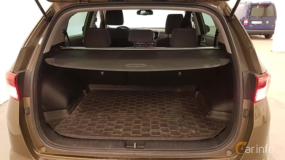 Interior of Kia Sportage 1.7 CRDi DCT, 141ps, 2017