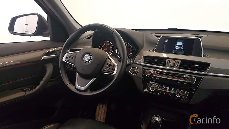 Interior of BMW X1 xDrive18d  Manual, 150ps, 2016