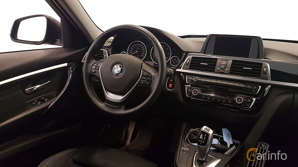 Interior of BMW 320d xDrive Touring  Steptronic, 190ps, 2016