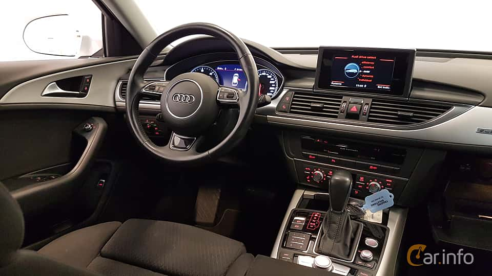Interior of Audi A6 Avant 2.0 TDI quattro S Tronic, 190ps, 2016