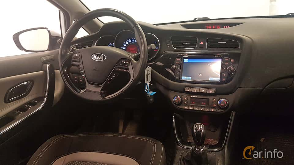 Interior of Kia cee'd_sw 1.6 CRDi Manual, 128ps, 2015